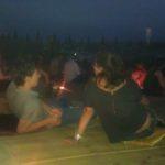 Aperitif bei Sonnenuntergang am Strand von Pisa: szenig und romantisch