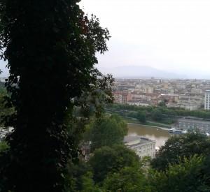 Turin Monte dei Cappuccini Blick