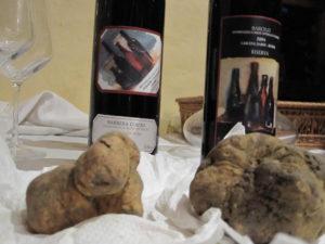 Barbera, Barolo und weißer Trüffel - ein starkes Team für Feinschmecker