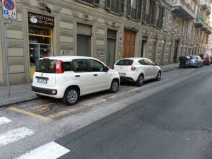 Bei Gelben Streifen sollte man nie parken