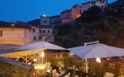 Romantisches Abendessen in Buti: das MAGGI, wunderschöne Terrasse und hervorragendes Essen